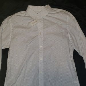 NWT Banana Republic long sleeve button down
